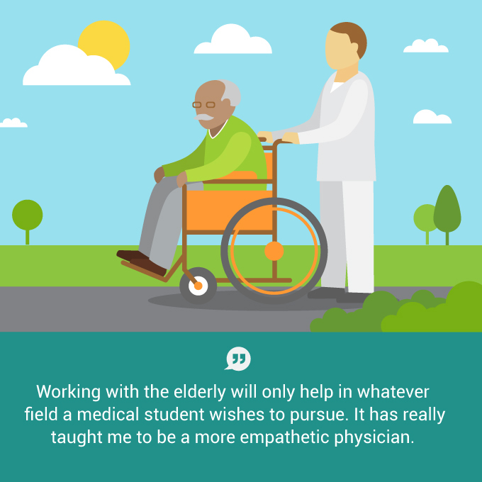 Learning about geriatric medicine: a lesson in compassion
