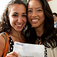 UCLA Match Day 2015: Students show off their match