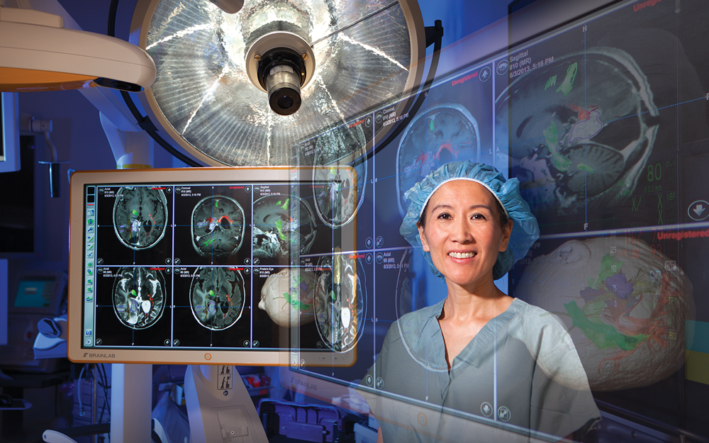 Linda Liau, MD, PhD, MBA as Chair of the Department of Neurosurgery