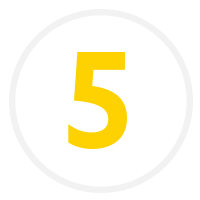 A number five icon