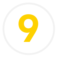 A number nine icon