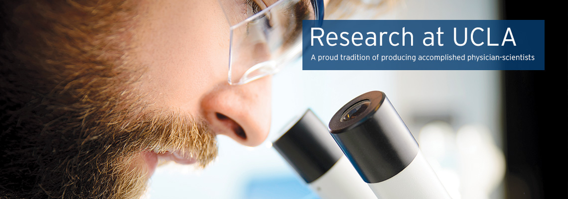 The research opportunities and resources you will be afforded at UCLA are immense.